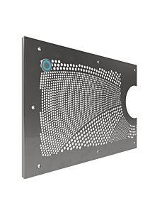 Piezotaster für Blendenmontage (externer Schalter bauseits zu errichten)