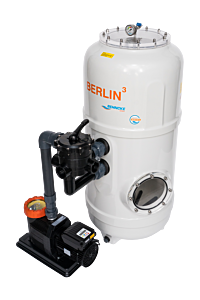 BERLIN³ Filteranlage mit 6-Wege-Ventil D500 - Comfort 12