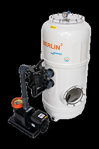 BERLIN³ Filteranlage mit 6-Wege-Ventil D750 - Deluxe 25