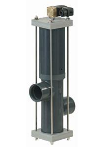 Besgo Rückspülautomat aus PVC-U - 2-Wege-Ventile Anwendung