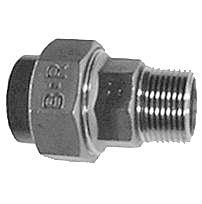 "PVC-VA Verschraubung 50 mm x 1½"""
