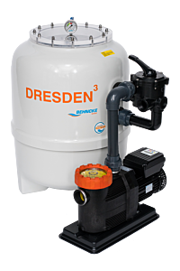 DRESDEN³ Filteranlage mit 6-Wege-Ventil D400 - Smart 6