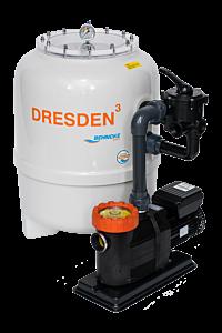DRESDEN³ Filteranlage mit 6-Wege-Ventil D500 - Comfort 12