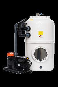 BÜHNE³ Filteranlage mit 6-Wege-Ventil D500 - Comfort 12