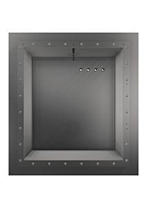 Einbaunische EVA SquareX1 für VA-Becken + Fliesenbecken