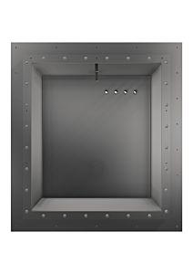Einbaunische EVA SquareX1 für GFK-Becken mit Stehbolzen inkl. Flansch