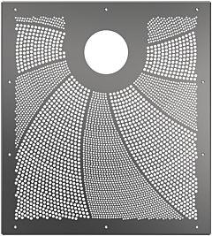 Blende EVA SquareX1 für Folienbecken